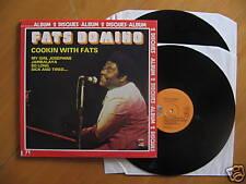 2 LP GATEFOLD FATS DOMINO - COOKIN WITH FATS / excellent état