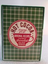 18 Boxed Christmas Greeting Cards Hot Cocoa Recipe