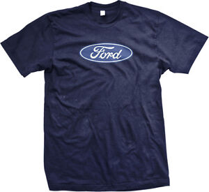 Ford Logo Mustang American Classic Shelby Saleen Racing Muscle Mens T-shirt