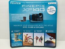 FUJIFILM FinePix XP140 Digital Camera (Blue) 6 Piece Bundle Brand New Sealed