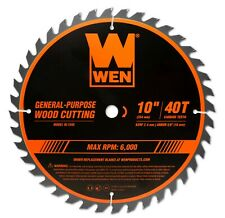 Wen Bl1040 10-Inch 40-Tooth Carbide-Tipped Professional Woodworking Saw Blade