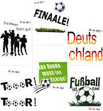 """große _ Fensterbilder - """" Fußball """" - Sticker Fenstersticker Aufkleber - selbstk"""