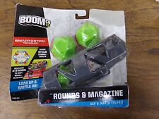 BoomCo Smart Stick Technology Rounds, Magazine & Target NEW in Package ~ Mattel