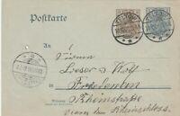 Postkarte Jahr 1906 verschickt von Teltow nach Friedenau