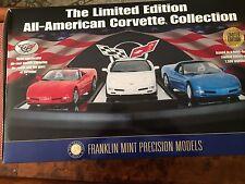 Corvette  Set 1997 - 98 -99 -  Franklin Mint  - New