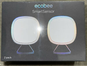 Ecobee SmartSensor 2 pack room temperature sensors (EB-RSHM2PK-01) **BRAND NEW**