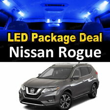 6x Blue LED Lights Interior Package Deal For 2014 2015 2016 2017 Nissan Rogue