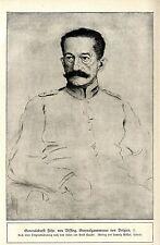 Generaloberst Frhr.von Bissing General-Gouverneur von Belgien (verstorben)c.1917
