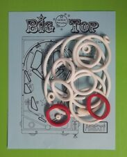 1977 Wico Big Top pinball rubber ring kit
