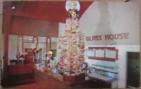 1950s Chrome AD PC-Lollipop Tree-Glass House Restaurant