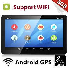 Android 7'' GPS Navigation Navigator System 16GB 512MB RAM Car Device Map Update