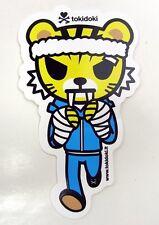 "TOKIDOKI Sticker - TIGER BOXER - approx 4"" tall"