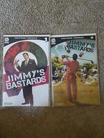 Jimmys Bastards #1 & 2 Cvr A Dave Johnson Aftershock Comics Comic Book