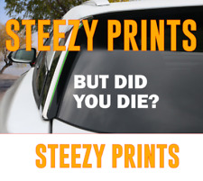 But Did You Die? Jeep Decal, Jeep Girl Sticker Decal Wrangler JK