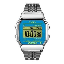 Timex TW2P65200 Women's Indiglo Stainless Steel Blue Dial Digital Watch