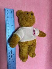 Avon Breast Cancer Bear Pink Shirt Brown Bear