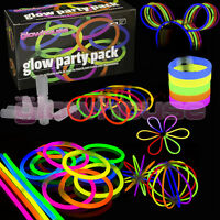 Glow Sticks Party Pack Bracelets, Glasses, Bunny Ears, Ball, Flowers and more