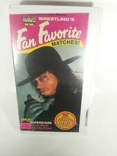 WWF Fan Favorite Matches 1992 VHS