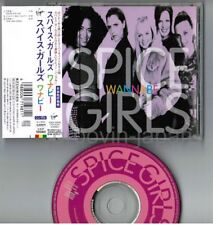 "SPICE GIRLS Wannabe JAPAN 5"" MAXI CD VJCP-12040 w/OBI+PS  Free S&H/P&P"