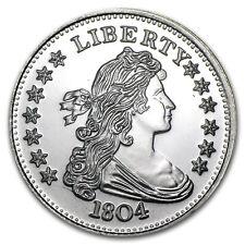 1 oz Silver Round - 1804 Silver Dollar - SKU #55642
