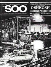 The Soo Line July 1991 Hamilton Depot Oshkosh Bridge Wrecks Fox River Duluth