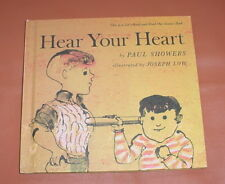 HEAR YOUR HEART ~ Let's-Read-and-Find-Out Science Book ~ 1968 Hardcover