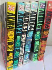 Akira Japanese manga graphic novels complete set Katsuhiro Otomo Deluxe Edition