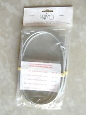 NOS 80s Casiraghi Corsa Race Brake Cable/Housing Set Clear Campagnolo Bicycle