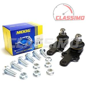Moog Lower Ball Joint Pair for FORD MONDEO Mk 3 + JAGUAR X-TYPE - 2000 to 2009