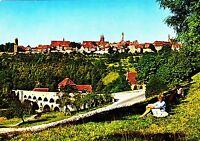 Rothenburg o.d. Tauber , Blick auf Stadt , Ansichtskarte , ungelaufen