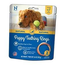 New listing N-Bone Puppy Teething Ring Chicken Chew Treat 1 Pack