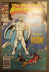 West Coast Avengers # 45 NEWSSTAND