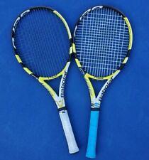 New listing 2x Babolot AeroPro Drive Tennis Racquet 300g/10.6oz 4 1/4 grip