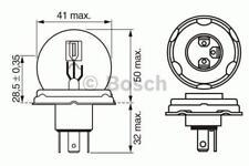 1x Bosch BULB R2P45T 1987302023 [4047024926318]