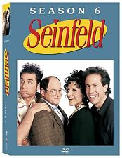 Brand New! Seinfeld Season 6 DVD - Hit 90s TV Sitcom Julia Louis-Dreyfus Jerry