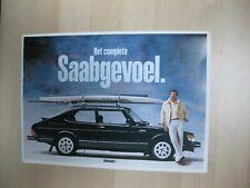 Saab 99 900 Accessories accesoires brochure Prospekt Dutch text 32 pages 1983