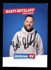Basti Retzlaff Autogrammkarte Original Signiert # BC 110141