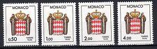 Monaco - 1986 Postage Due - Coat of Arms - Mi. 87-90 MNH