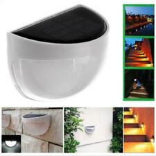 LED Energía Solar Sensor de Brillo Seguridad Jardín Luz de Pared Lámpara IP55
