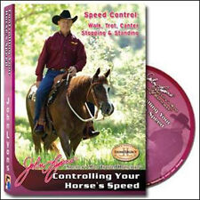 Controlling Your Horse's Speed by John Lyons - DVD