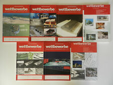 7 Hefte Wettbewerbe Architekturjournal Architektur Zeitschrift Magazin