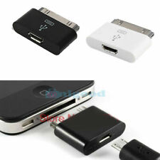 Micro USB Female to  30 Pin Male Charger Adapter for iPhone 4/4s iPad Ipod