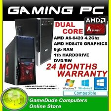 AMD Tower Desktop & All-In-One PCs
