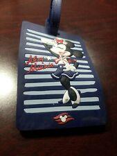 Minnie Mouse Navy Minnie Luggage Tag Disney