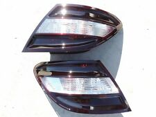 CUSTOM 08-11 W204 C300 C350 Smoked OEM Tail lights Black Tinted non led painted