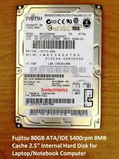 "Fujitsu, Hitachi, Toshiba ... 80GB ATA/IDE 5400 rpm 8MB 2.5"" Int Bare Hard Drive"