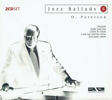 Oscar Peterson - Jazz Ballads 8 - Documents 2CD New Sealed Digipak