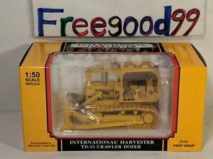 NEW 1:50 First Gear International Harvester TD-15 Crawler Dozer 50-3059