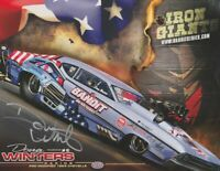 2019 Doug Winters signed Iron Giants '68 Chevy Chevelle Pro Mod NHRA postcard