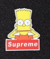 2 Bart Vinyl Stickers
